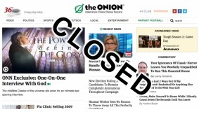 Discovery of Parallel Universe Leads to Demise of The Onion